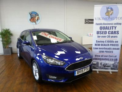 Ford Focus 1.5 TDCi 120 Zetec Navigation APPEARANCE PACK, FREE TAX! Hatchback Diesel Deep Impact BlueFord Focus 1.5 TDCi 120 Zetec Navigation APPEARANCE PACK, FREE TAX! Hatchback Diesel Deep Impact Blue at Viking Autos Scunthorpe