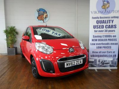 Citroen C1 1.0i VTR 3dr FREE TAX Hatchback Petrol RedCitroen C1 1.0i VTR 3dr FREE TAX Hatchback Petrol Red at Viking Autos Scunthorpe